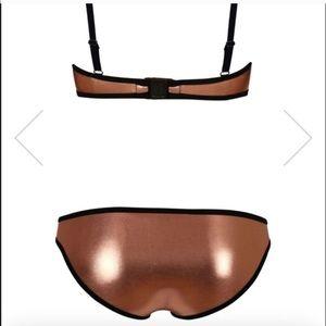 triangl swimwear Swim - Triangl Poppy Melon Rose Bikini